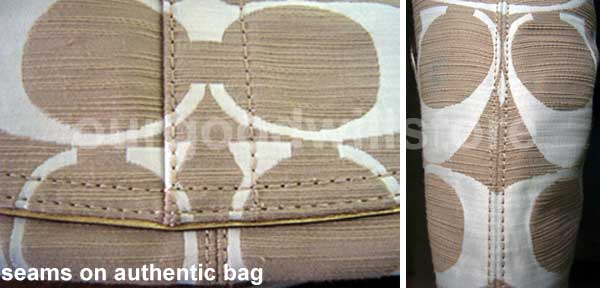 How to authenticate a coach bag with